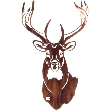 20 inch Buck Wall Art, Yellow | Walls, Silhouette pictures and CNC