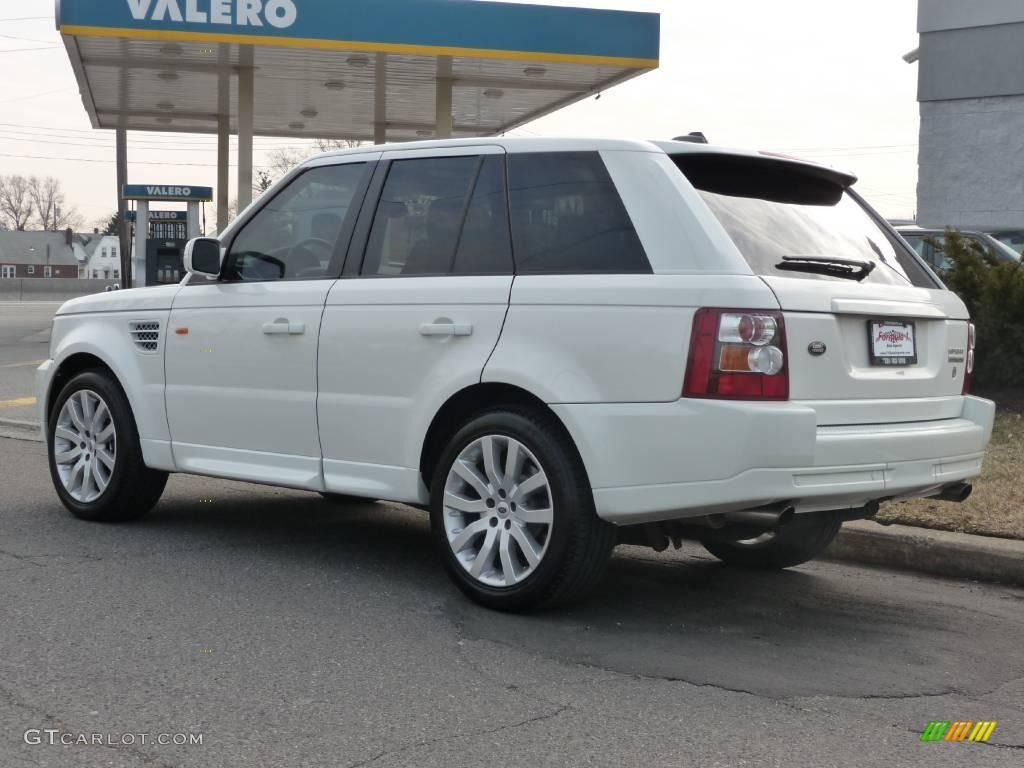range rover sport supercharged white 2006 Chawton White
