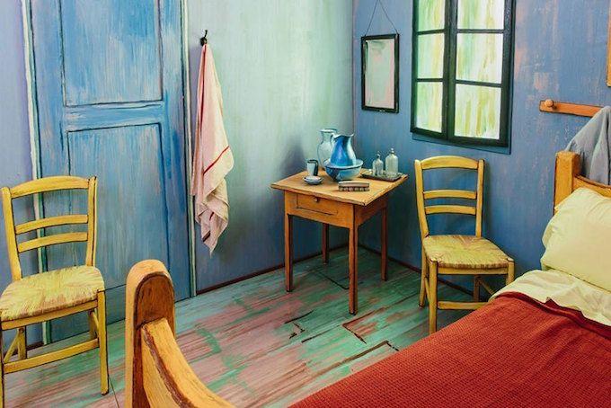 画家ゴッホのベッドルームが宿泊施設に? Van gogh