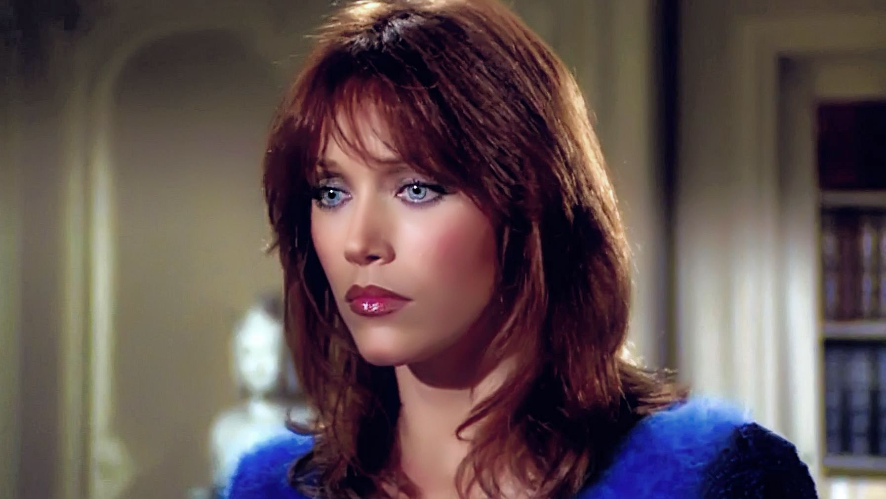 Tanya Roberts as Julie Rogers | Julie rogers, Famous girls