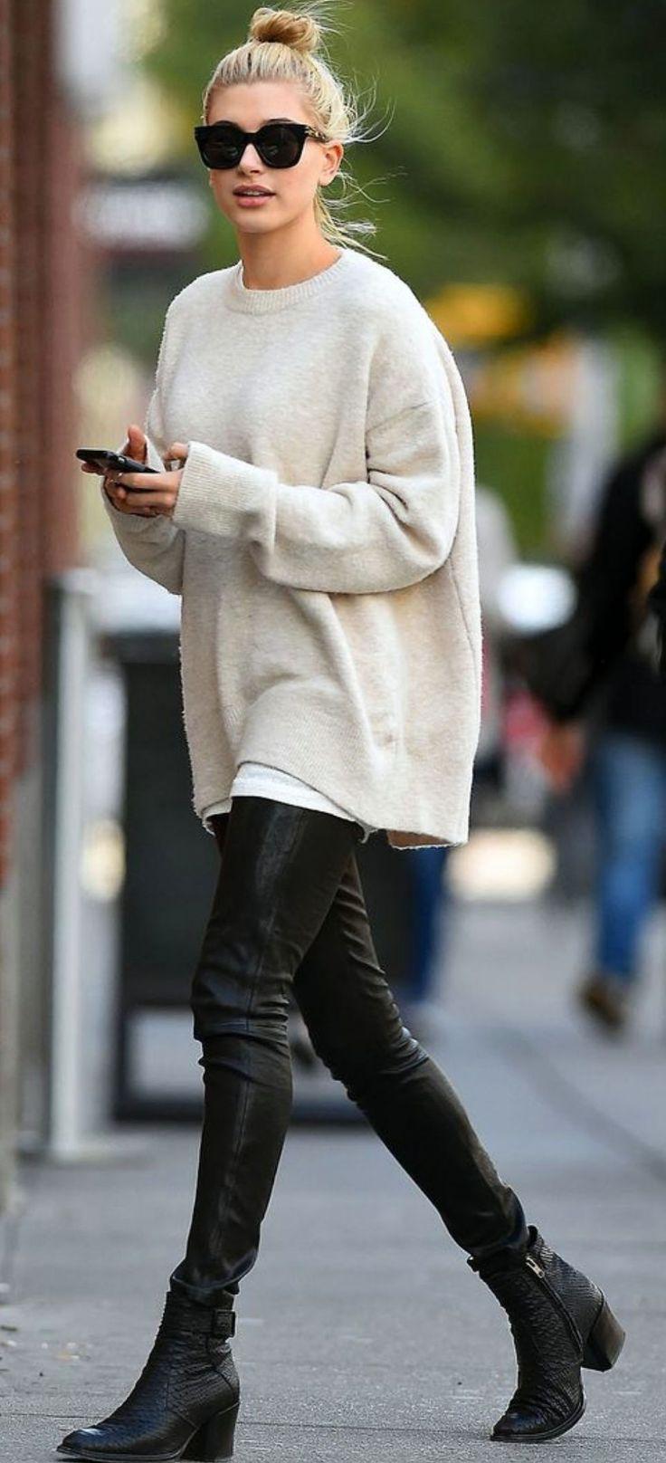 Oversized Sweater Streetstyle | STYLE | Pinterest | Street styles ...