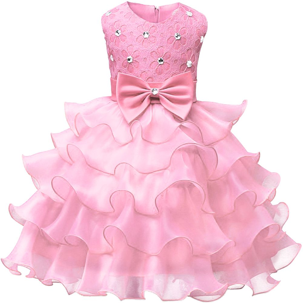 Baby Girl Dress Princess Holiday Lace Kids Christening Events Party ...