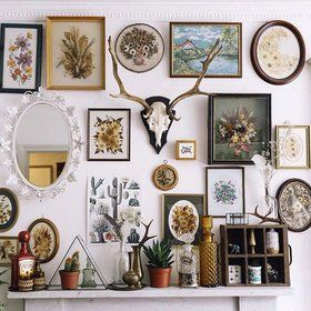 The New Way To Build A Gallery Wall Go 3 D Gallery Wall