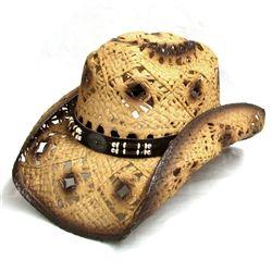 Lonestar Canyon Crown Tan Toyo Hat SNL3-13