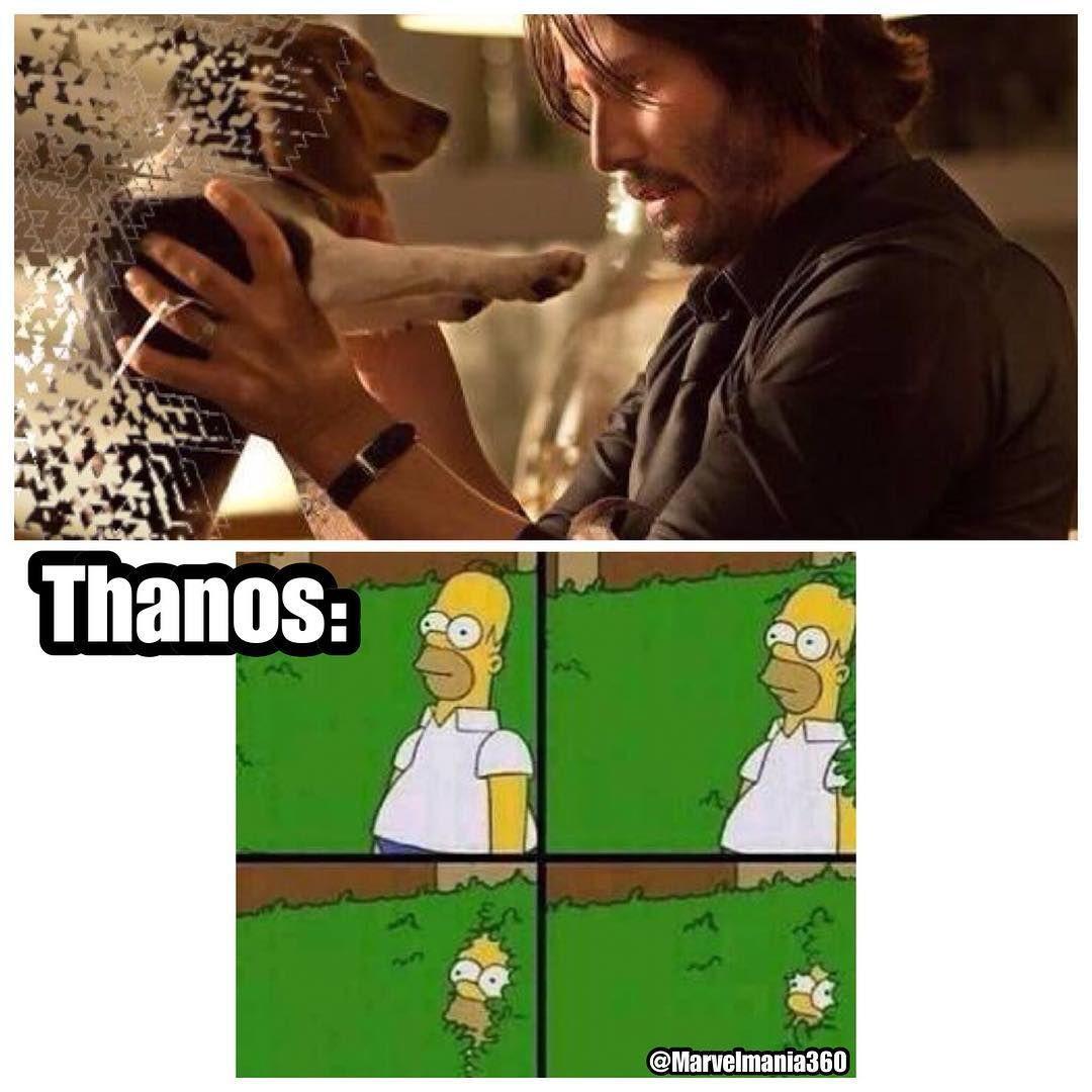 John Wick Grabs Pencil Avengersinfinitywar Johnwick Idontfeelsogood Follow Because I Said So Well T John Wick Meme Funny Memes Marvel Memes