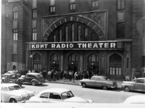 krnt theater 1950s history west des moines iowa des