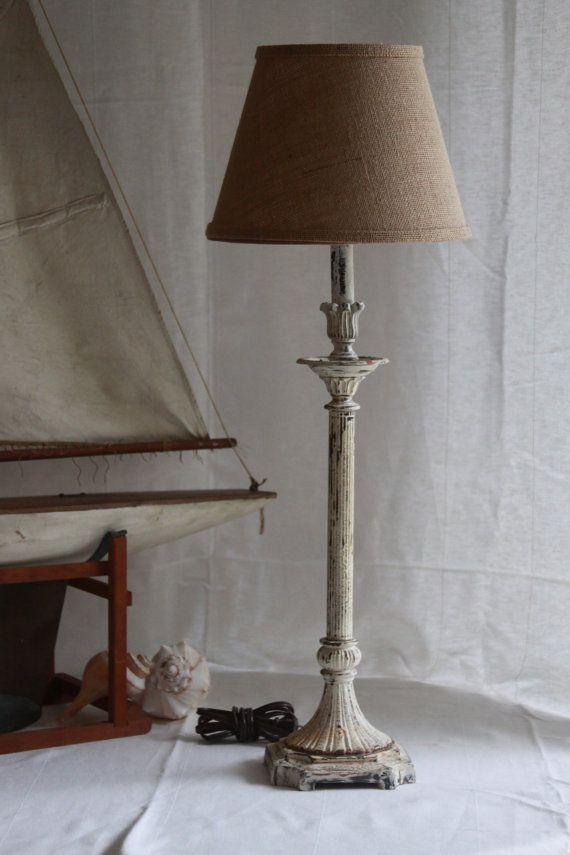 Candlestick Lamp Etsy