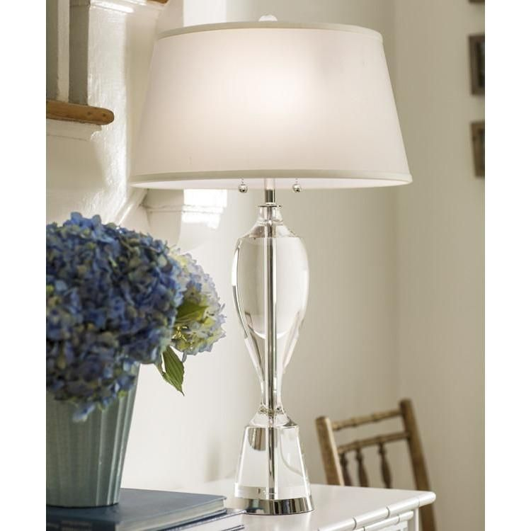 Decorative Crafts Solid Crystal Pulive Table Lamp 8450 With