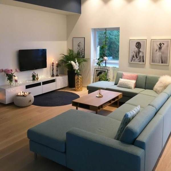 23 Charming Beige Living Room Design Ideas To Brighten Up: 45 Decorações Para Sala De TV Com Estilo E Elegância