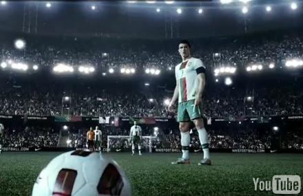 Nike Soccer Commercial – Cristiano Ronaldo Leaves a Vapor Trail ...