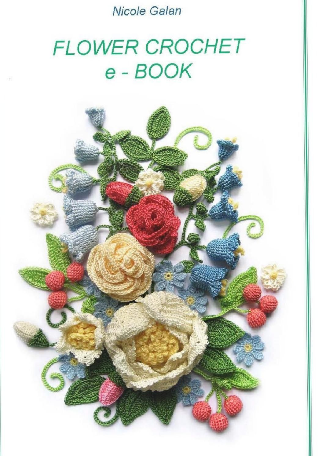 ISSUU - Flower crochet ebook by Camelia July | Crochet Book ...