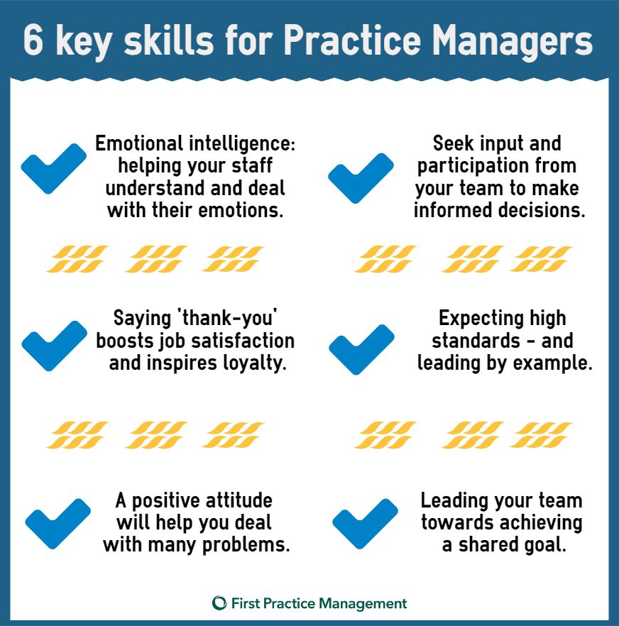 6 important skills every gp practice manager should have