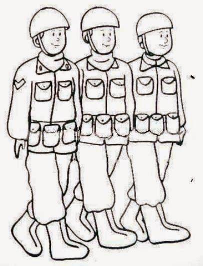 Kolay Asker Cizimleri Ile Ilgili Gorsel Sonucu Boyama Sayfalari Askeri Kartlar