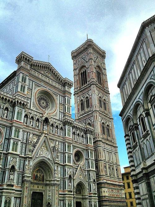 Duomo di Firenze, Duomo di Firenze, Campanile and ...