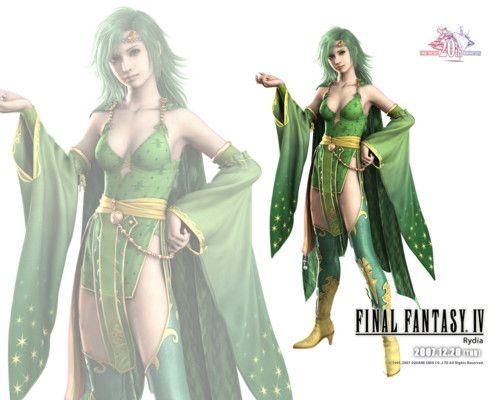 Ffiv Rydia Official Wallpaper Final Fantasy Iv Final Fantasy
