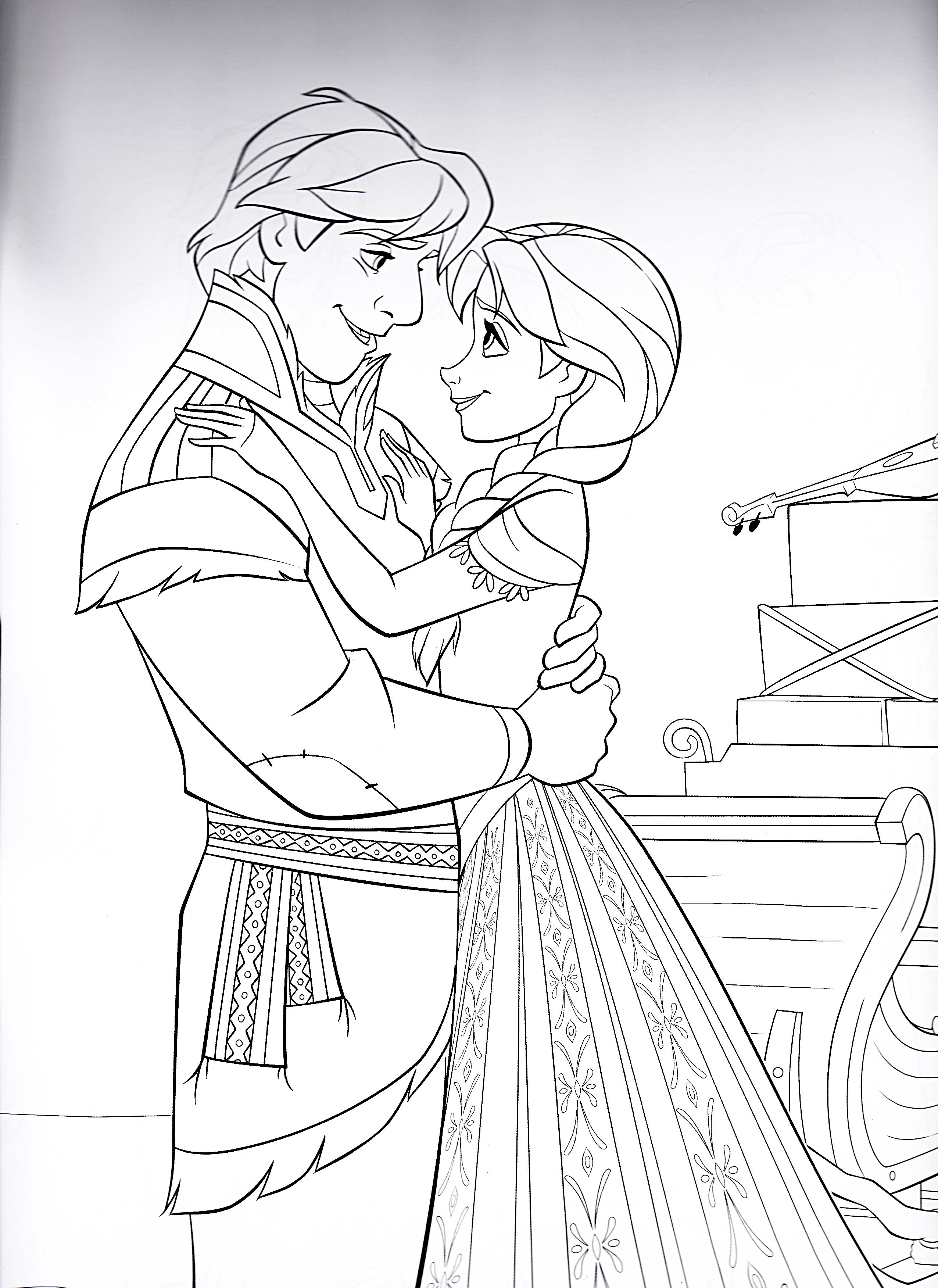 Pin on Disney Frozen Coloring Sheets