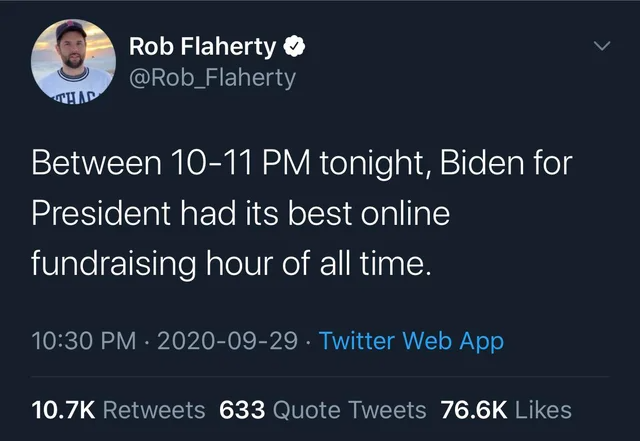 Pin By Women For Biden On 2020 Debates Positive Memes Tweet Quotes Online Fundraising