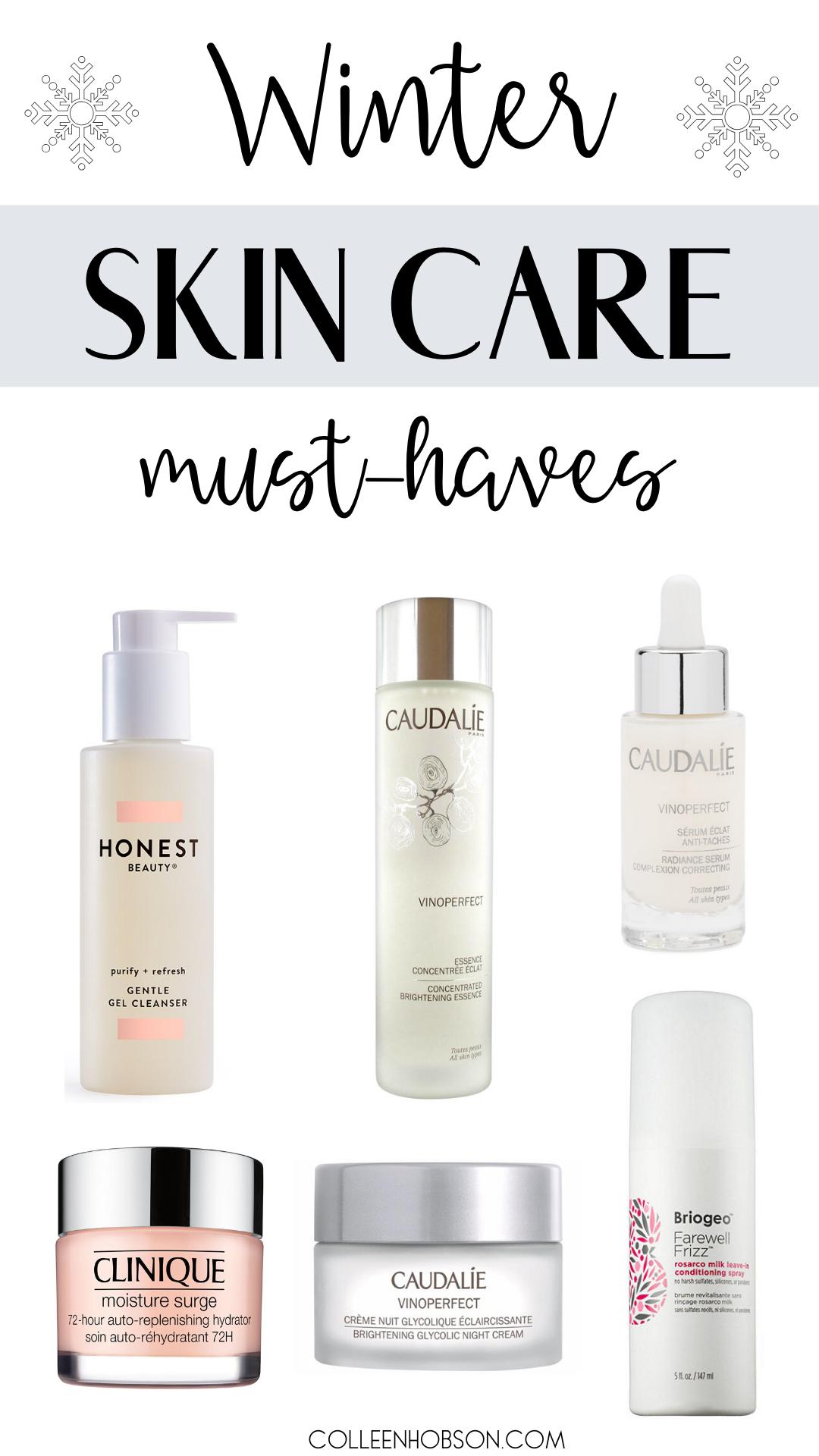 Amazing Skincare Routine For Dry Winter Skin Colleen Hobson Winter Skin Care Brightening Skincare Winter Skin