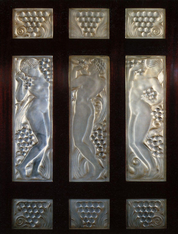 venice simplon orient express ren lalique glass panels. Black Bedroom Furniture Sets. Home Design Ideas
