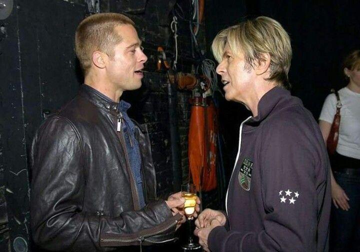 David Bowie & Brad Pitt