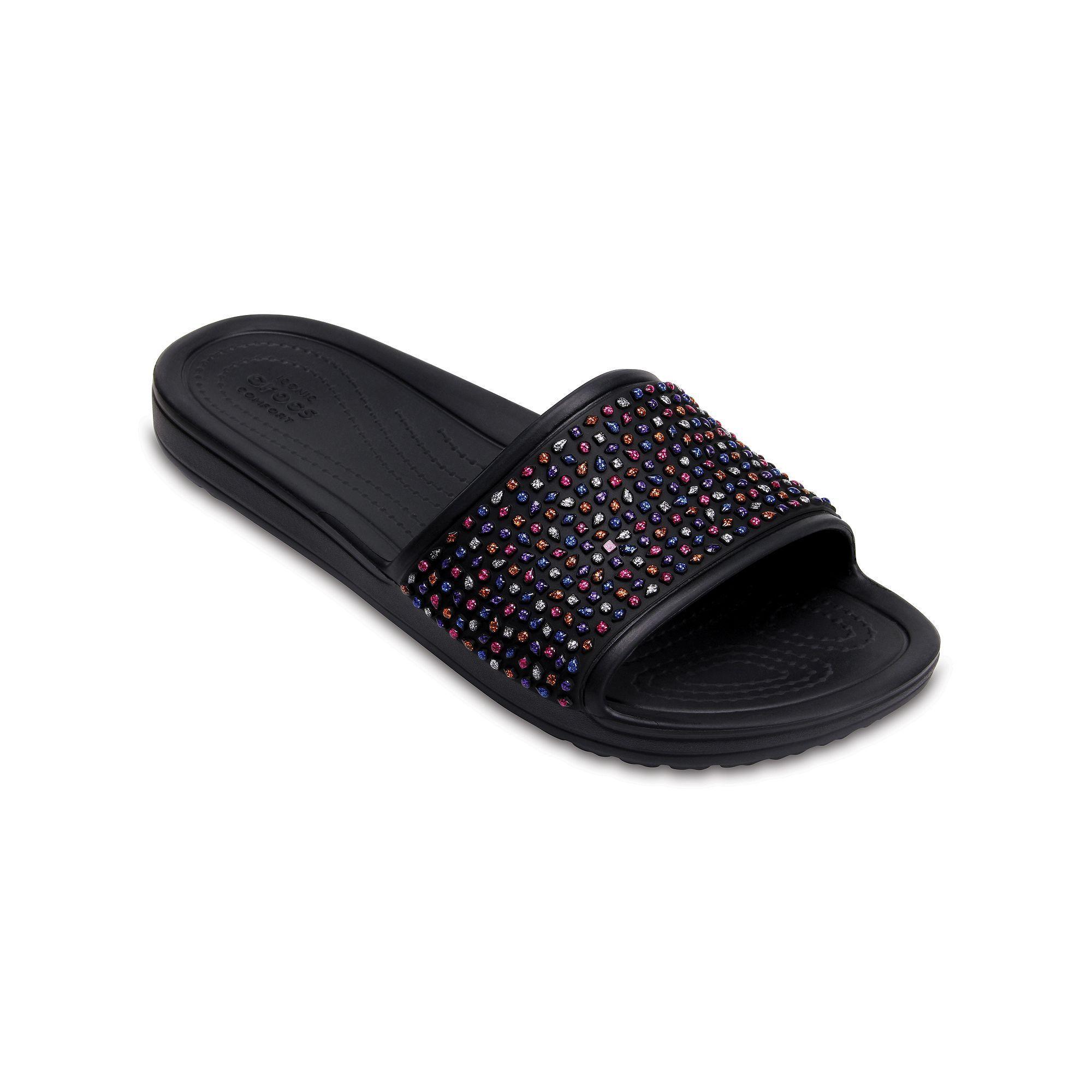 6301b37d9cdf9 Crocs Sloane Embellished Women's Slide Sandals   Products   Crocs ...
