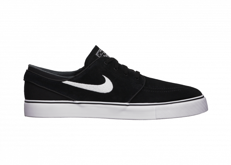 Nike SB Zoom Stefan Janoski - MAXIMUM BOARDFEEL AND PREMIUM COMFORT From the mind of an innovative skate legend comes the Nike SB Zoom Stefan Janoski Men's Skateboarding Shoe, a signature style with a low-profile, minimalist aesthetic and maximum boardfeel. Benefits  Leather and synthetic upper for supreme comfort Nike Zoom for low-profile cushioning and lightweight performance Autoclave construction fuses the outsole to the upper for a classic streamlined look and feel One-piece ...