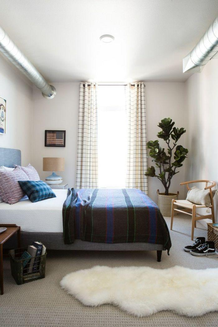▷ 1001 + Ideen für Schlafzimmer modern gestalten | Teppich ...