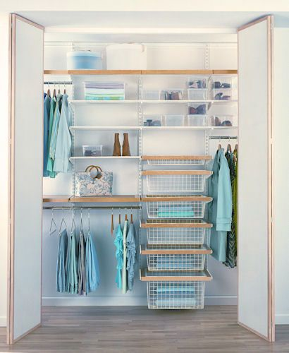wardrobe interiors and modular shelving u0026 storage solutions from elfa