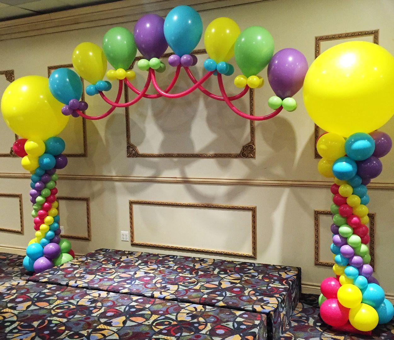 Huntington Woods Balloon Backdrops Stage Decor Michigan