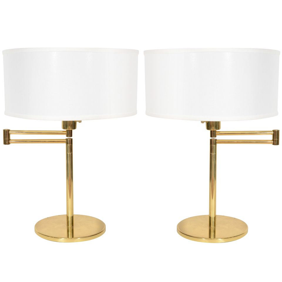 Tomons Swing Arm Desk Lamp Natural Wood Designer Table Lamp For Living Room Bedroom Studio Study And Office Green Desk Lamp Table Lamp Office Lamp