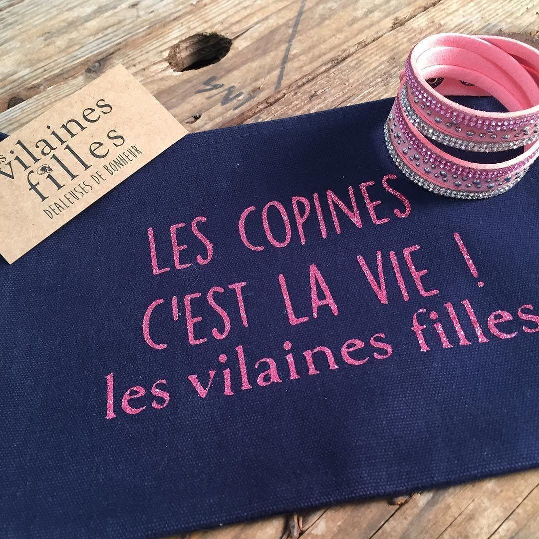 Les Copines C Est La Vie Bracelet Monstorafashion Com Trousse