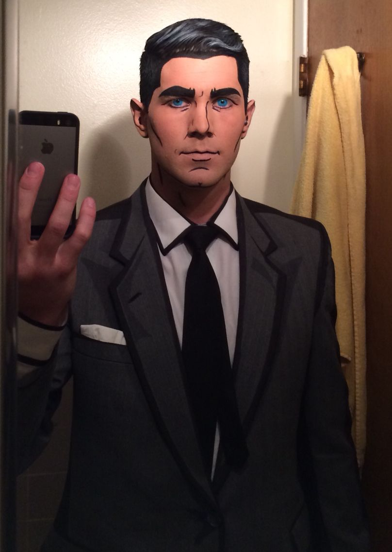 Archer cosplay.  DANGER ZONE!!!!!!! #halloweencostumesmen