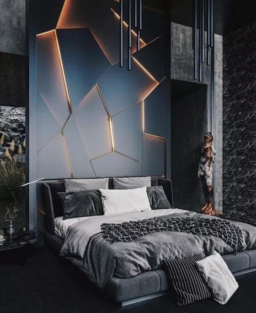 31++ Dark modern bedroom ideas ppdb 2021
