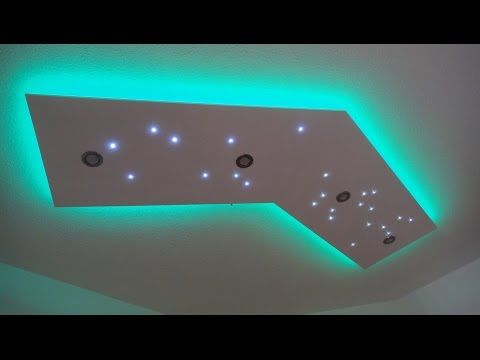 Good Deckenleuchte selber bauen direktes und indirektes LED Licht YouTube
