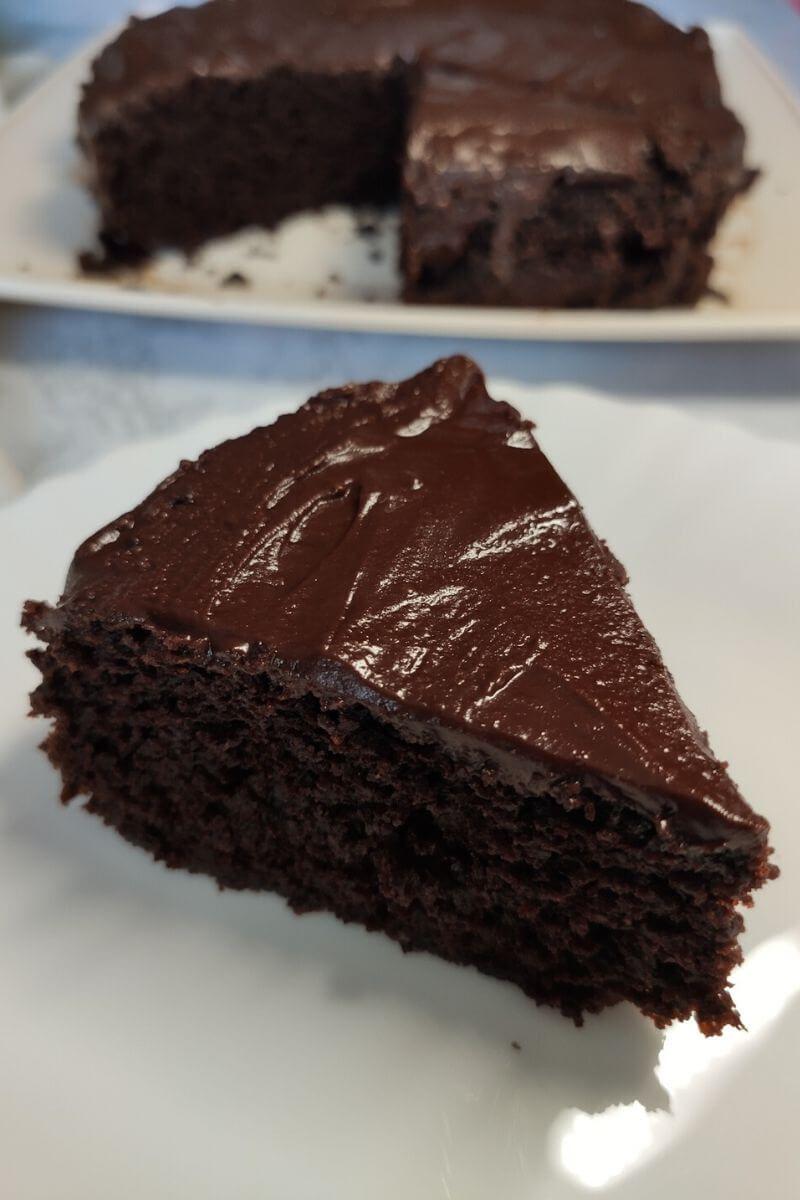 Easy Vegan Chocolate Cake Simple Vegan Chocolate Cake In 2020 Vegan Chocolate Cake Vegan Chocolate Cake Easy Vegan Chocolate Cake Recipe