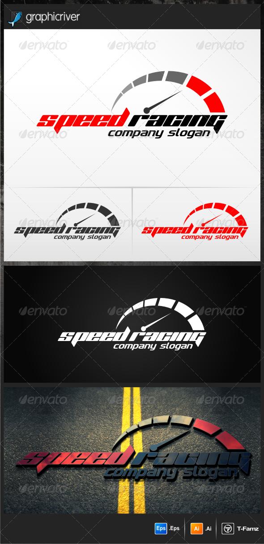 Speed Racing Car tuning, Fonts and Logos