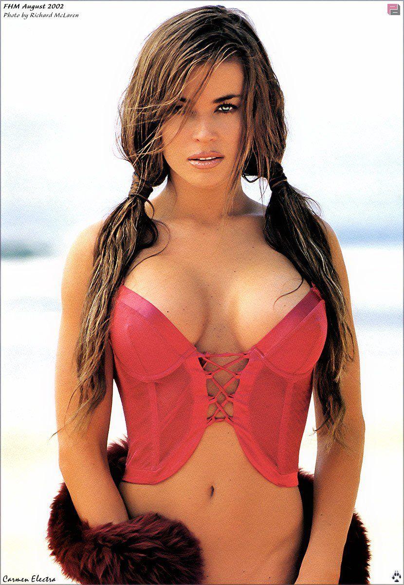 Carmen electra nude outside pics 635