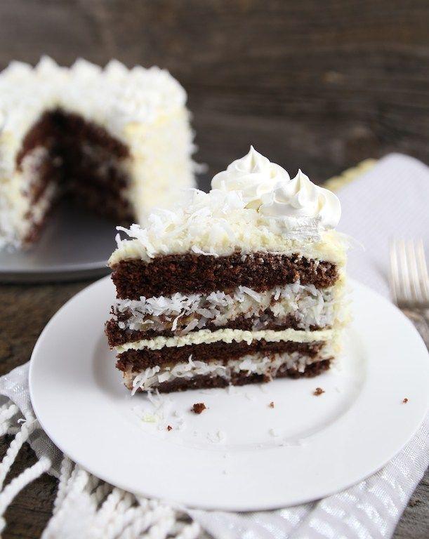 Chocolate Raffaello Cake Dessert Recipes Easy Different Cakes Baking