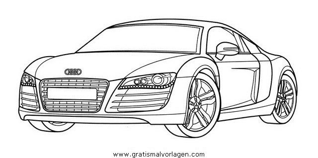 Auto Ausmalbilder Audi Cars Coloring Pages Coloring Pages