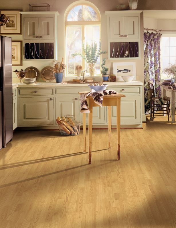Woodland Park L0006 Natural Oak Armstrong Laminate Flooring Georgia Carpet Industries