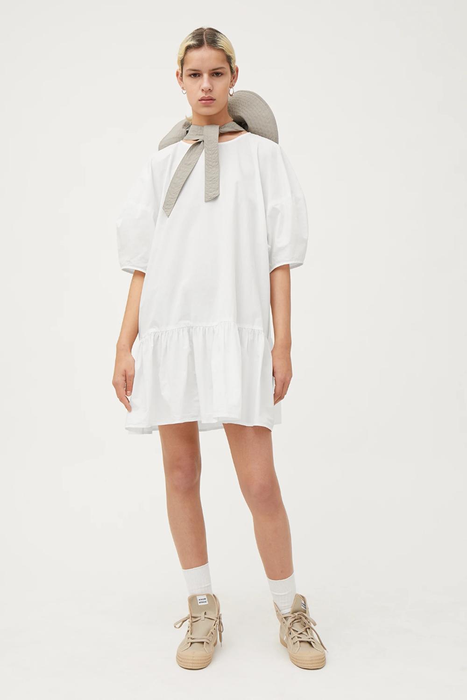 Elda Poplin Dress White Dresses Jumpsuits Weekday Poplin Dress White Jumpsuit Dress Jumpsuit Dress [ 1500 x 1000 Pixel ]