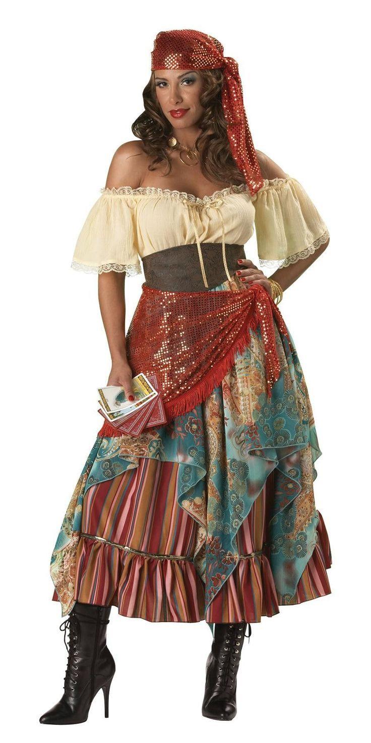 4d6e50681 Resultado de imagen para disfraz gitanos | vestidos largos | Disfraz ...