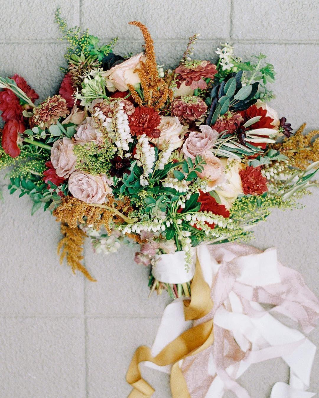 Seattle Wedding Florist On Instagram Textural Autumn Bouquet With