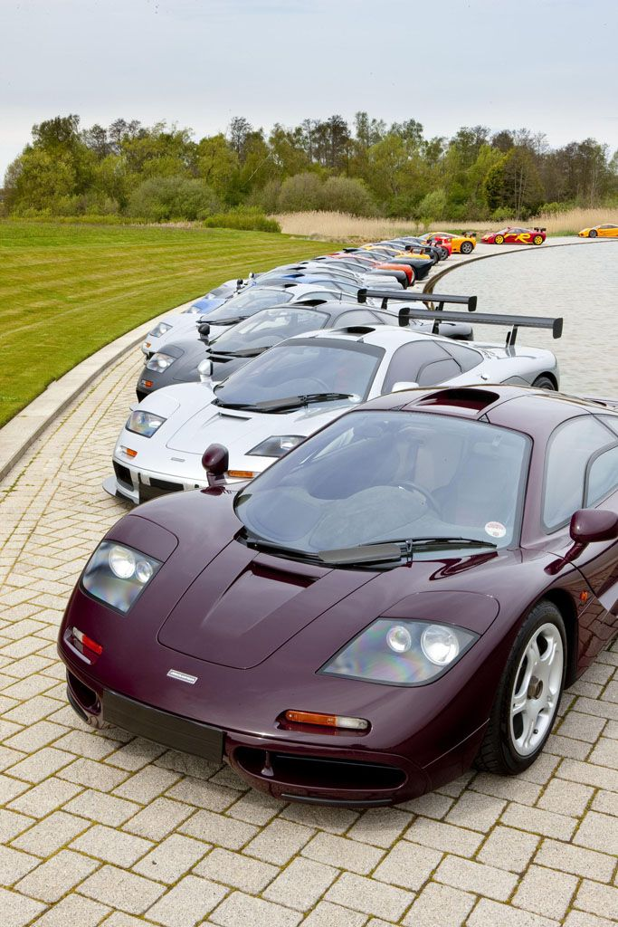 Mclaren F1 The Legend One Of The Most Rare Pics Ever Http