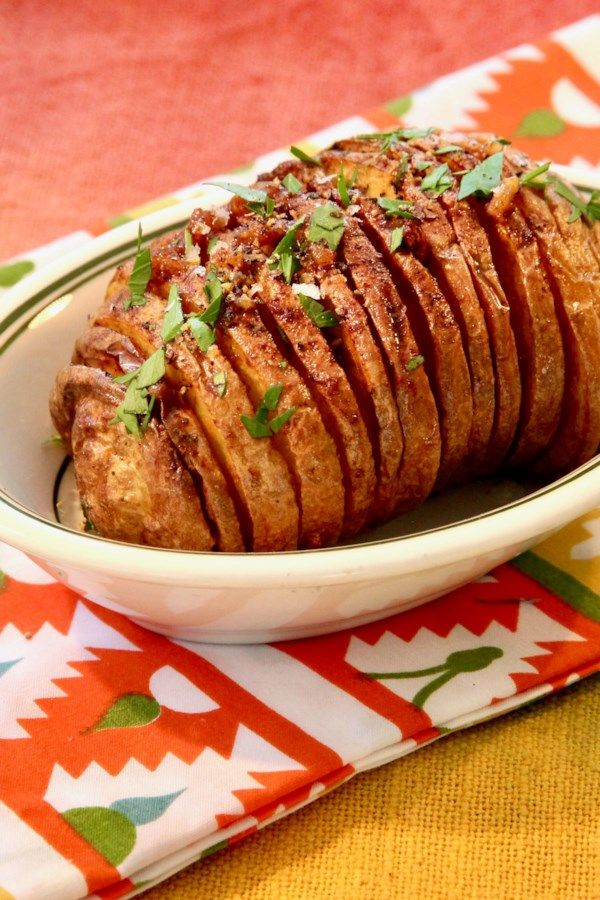 Air Fryer Hasselback Potatoes Recipe in 2020