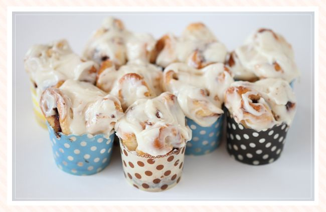 Nutella Rolls with Cream Cheese Icing / Ruche Blog