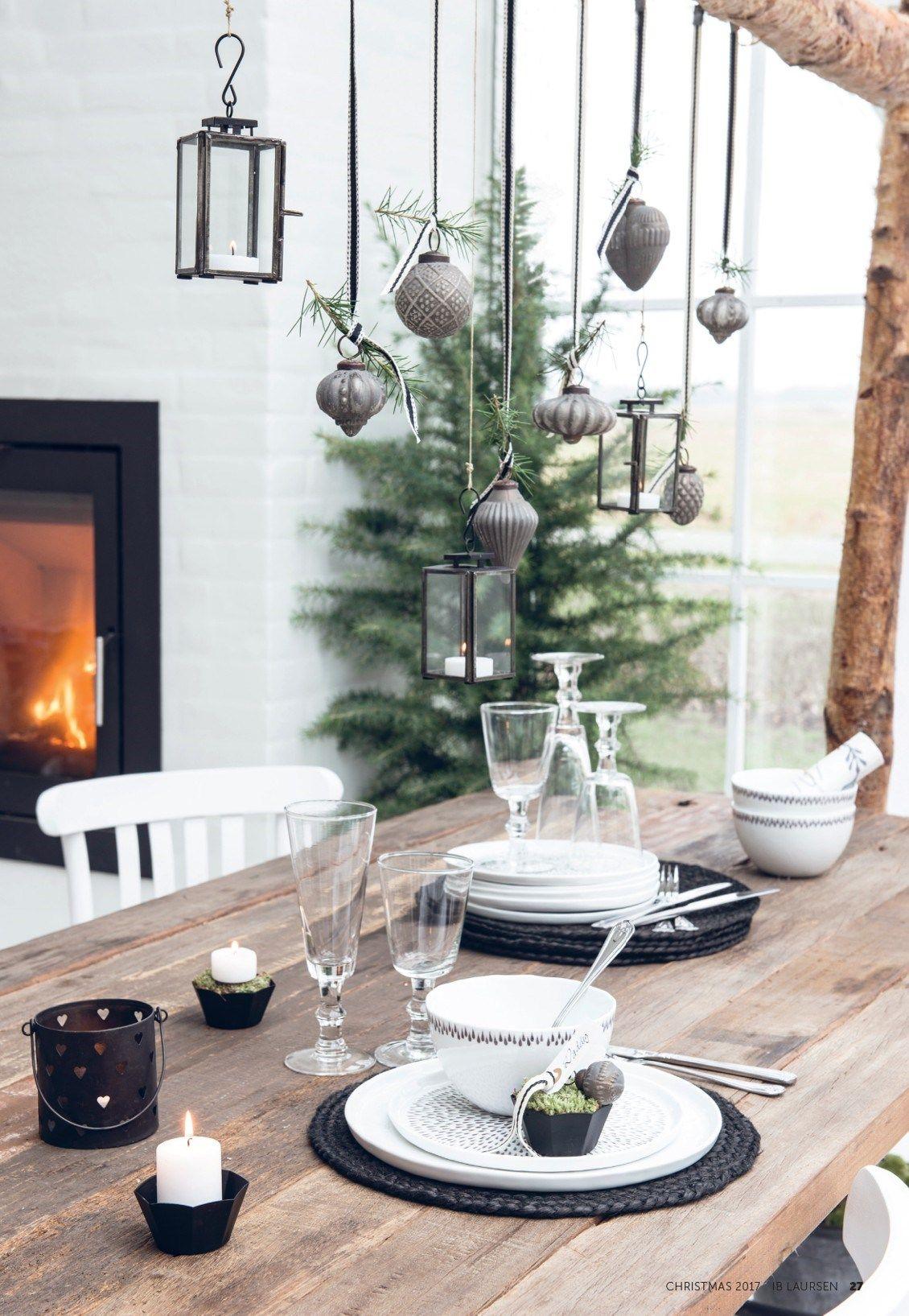 Tischdeko Weihnachten Ib Laursen Christmas Hygge Kerst