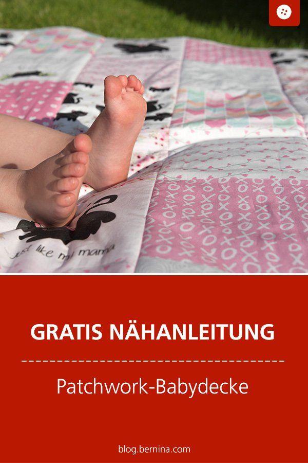"""Photo of Nähanleitung Babydecke """"Easy Patchwork"""" – ideal für Nähanfänger!"""