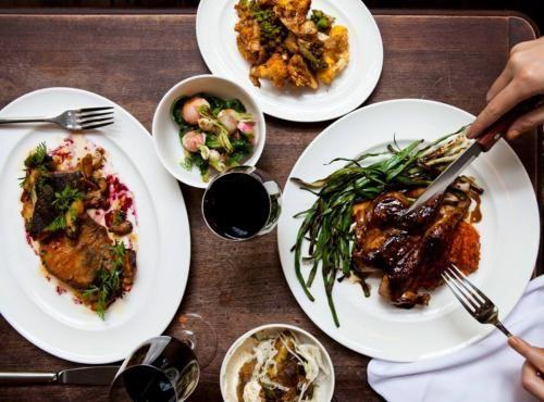Restaurant The Breslin Bar Dining Room Manhattan New York Etat De