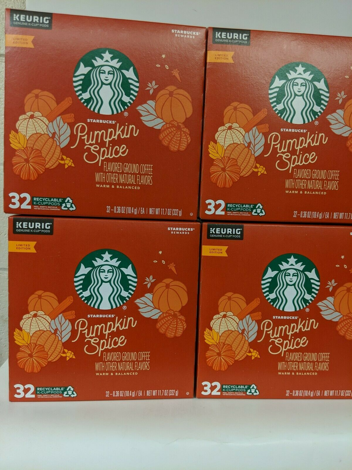 Starbucks Christmas Flavored Kcups 2020 Starbucks Pumpkin Spice Coffee K Cup Pods Limited Edition New